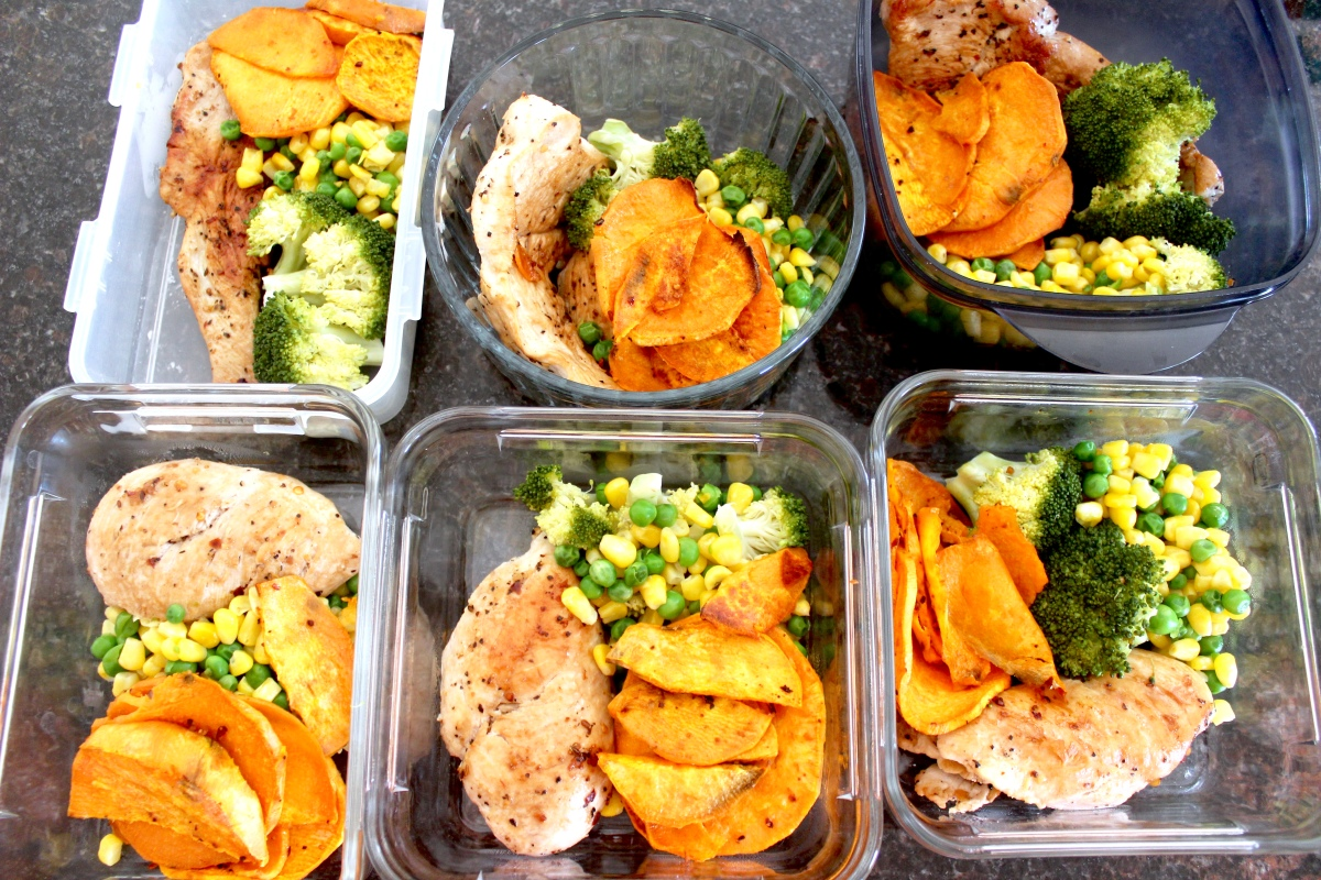 $35 Meal Prep - Breakfast, Lunch and Dinner For 3 Days!